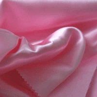 атлас плотный св/розовый Китай